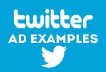 Twitter Ad Examples / Looking for Twitter Ad inspiration?
