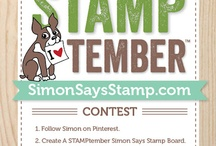 Stamptember Simon Says / by Harriet Skelly