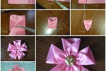 DIY Flowers & Bows