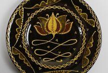 Kerámia - Tálak, tányérok