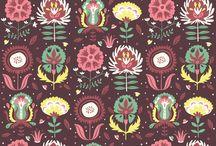 Patterns, colors