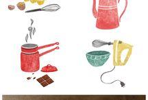 Art Multimedia - recipe illustration