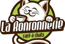 La Ronronnerie - Logo/Création / Retrouvez toutes les créations design de La Ronronnerie