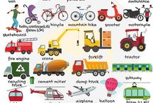 Vocabulary - Vehicles