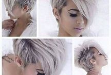 Frisuren und Haarfarben