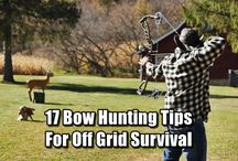 Bow hunting & technique