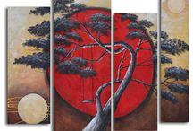 art asiatique / fresque, tableau, tapisserie asiatique