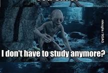 School exam week is over / School exam week is over