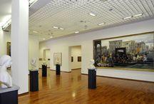 Gallerie     Opere d'arte / Immagini  di Gallerie di  Arte Contemporanea. Foto di opere d'arte.