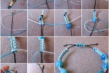 bracelets / jewelery craft / by Jennifer Whipple