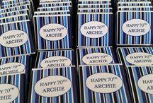 Birthdays / Birthday invitations, gifts, chocolates, guest books