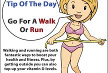 Fitness Tips Of The Day / A selection of daily health and fitness tips.