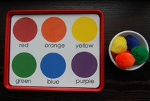 Colors / Color activities, cole theme, color mixing / by Sheryl @ Teaching 2 and 3 Year Olds
