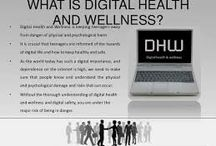 Digital Health and Wellbeing / This board is educating people about how to stay healthy whilst using the internet