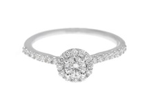 Weddings: Subtle Sparkle / Petite engagement rings that pack a punch! / by Greenwich St. Jewelers