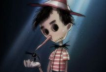 Disney by Tim Burton