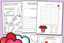 Valentine School Activities