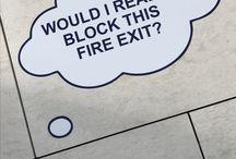 Wayfinding: Signs that help people negotiate communal spaces / Signs in public spaces