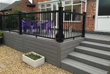 Good Life Composite Decking / Good Life decking has an unbeatable combination of price and performance, great in value, look & performance & is capped on 3 sides. Comes in 2.44m & 3.66m lengths, is 24mm thick & 133mm wide.