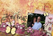 Falling For You Digital Scrapbooking Collection by Kathryn Estry