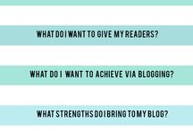 ++ Blogging ++ / Useful bits and bobs for bloggers!