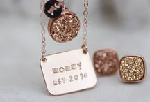 Mom Life / All Things Mom & Parenting | Custom designed jewelry using unique druzy stones • Handcrafted necklaces, earrings, bracelets & rings • High quality vegan nail polish | ShopWrenn.com