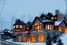 Exclusive Vail Rentals / Pins showcasing our luxurious accommodations in Vail, Beaver Creek, and Bachelor Gulch.