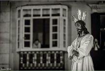 Semana santa 2015 / Salidas en recorridos de tronos con imágenes