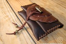 Handmade Deerskin Leather Tobacco Pouches by Wadada Africa / Handmade Upcycled Deerskin Leather Rolling Tobacco Pouches. View pouches available for purchase on Etsy: www.etsy.com/shop/wadadaafrica