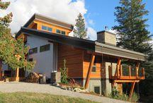 Hybrid Timberframe Homes
