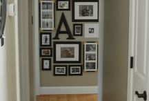 Home Decor / Hallway art gallery