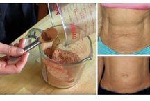 břicho-krémy
