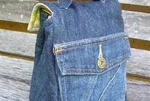 Идеи из джинсов