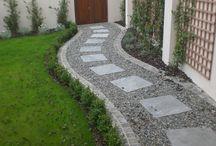 štěrková cesta - gravel path