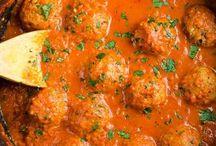 Vegetarian meatballs!!