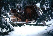 Winter & the Holiday Season / Wintery feelings, hygge, Christmas decorations
