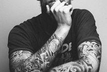 Tattooed Men / Board full of admirable tattooed honeys hahhaa.