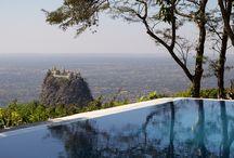 Infinity Pool al Popa Mountain Resort