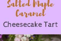 Maple caramel cheesecake