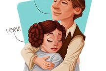 Star Wars Ever / A famosa Guerra das Estrelas... onde o amor move o coração de pessoas, até como o Darth Vader...
