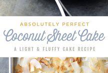 So sweet / Desserts