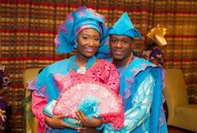 Nigerian Wedding| Aso-oke Color Inspiration