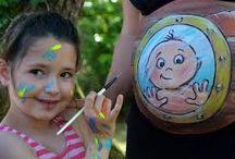 Malowanie brzucha w ciąży