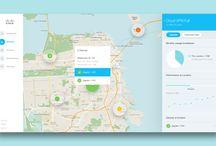 map ui / UI Design for Map Application