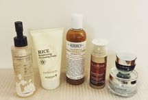 Beauty / Sharing photos of skincare products and tips from my blog