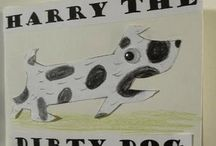 Kindergarten Literature Unit Ideas ~ Harry the Dirty Dog / Ideas to go along with the book, Harry the Dirty Dog.