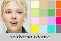 Jasna Wiosna / analiza koloru