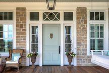 Puertas fachada