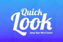 """Quick Looks / """"Quick Looks"""" are short videos in which I provide viewers with a glimpse into my teaching. I'll use them to share quick ideas, resources and classroom management systems I use in class."""
