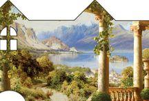 Картинки для чайного домика